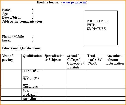 12+ application job sample performa - Basic Job Appication Letter