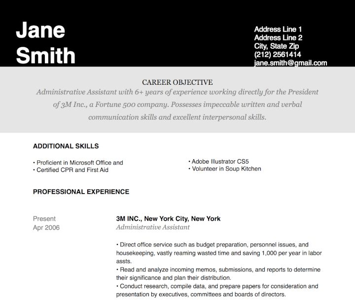 35 Free Microsoft Word Resume Templates That'll Land You the Job