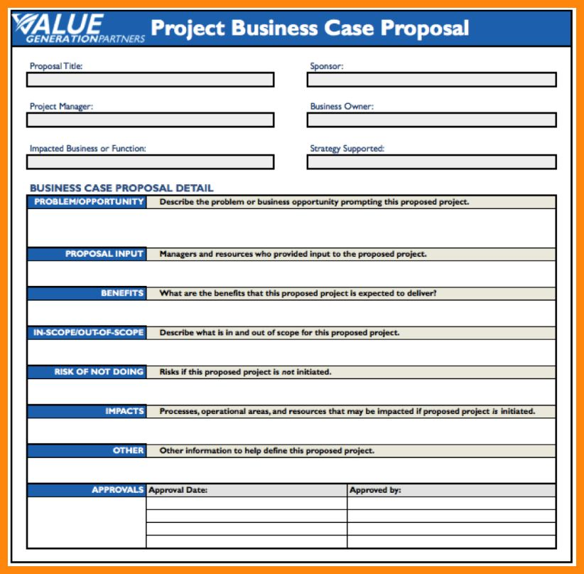 4+ business case template | nurse resumed