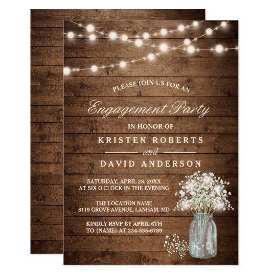Engagement Party Invitations & Announcements | Zazzle