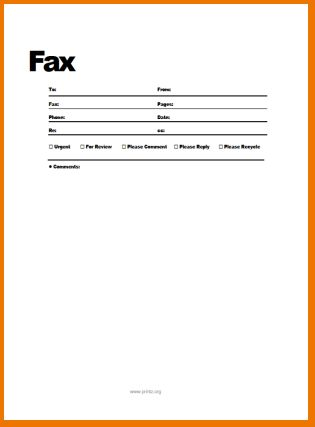 4+ free fax cover letter | teknoswitch