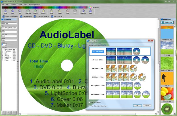 CD Label Template - DVD Label Template - Free Download