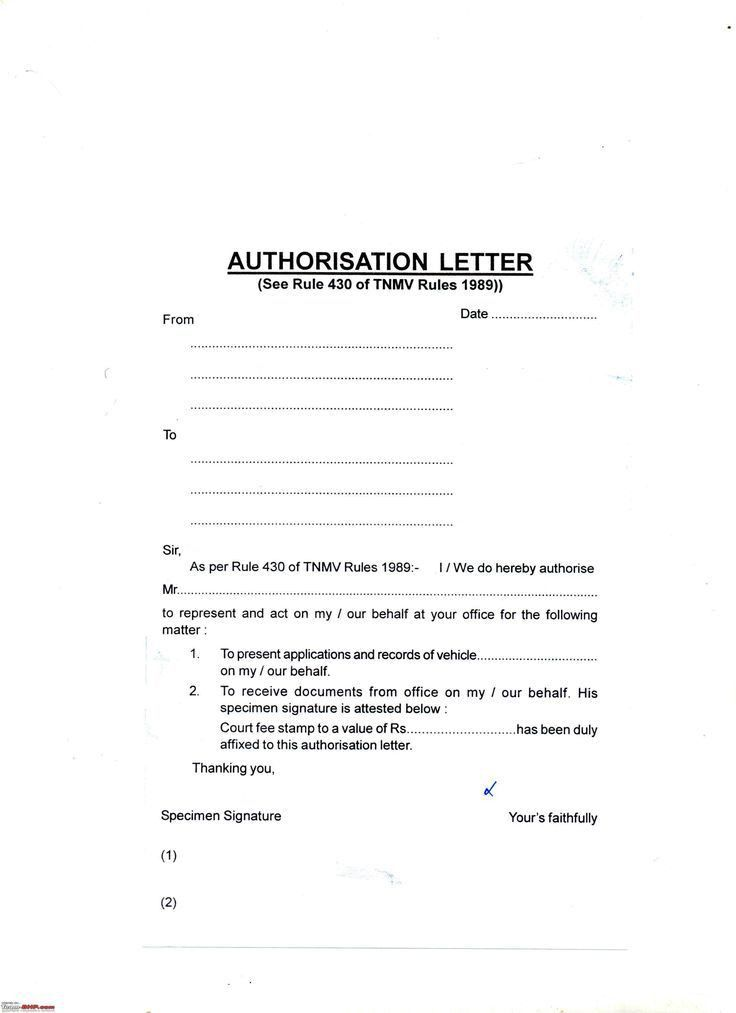 letter authorization drive car sample amp templates motor vehicle ...