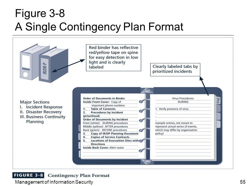 Management of Information Security Chapter 3 Planning for ...