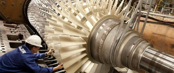 Gas Turbine Repairs - Sulzer