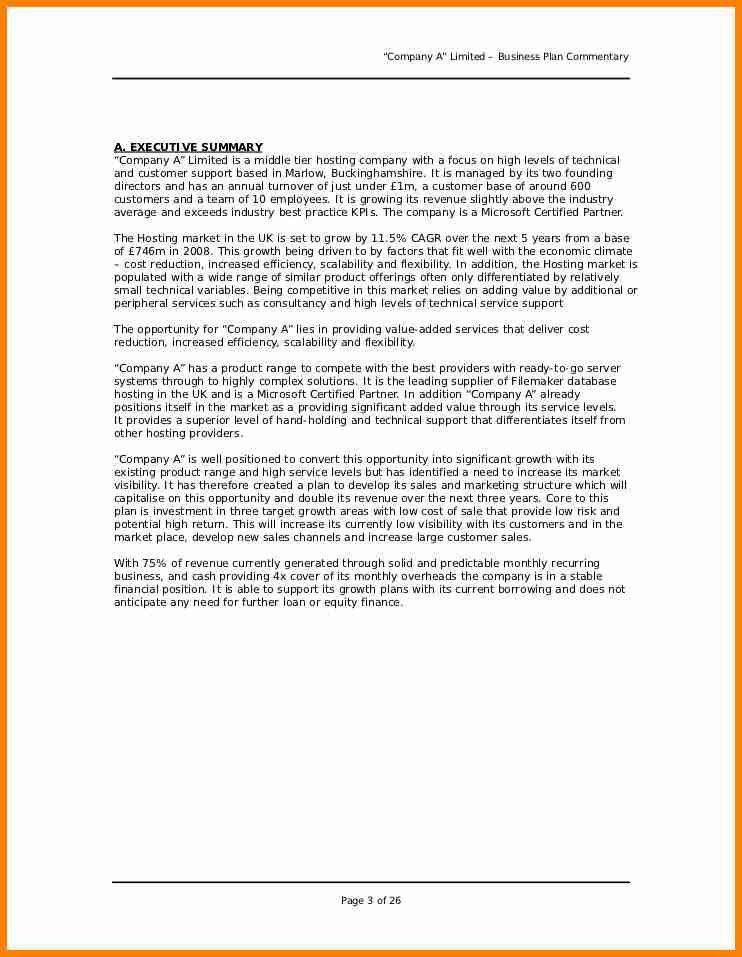 Summary Plan Description Template | Template Design