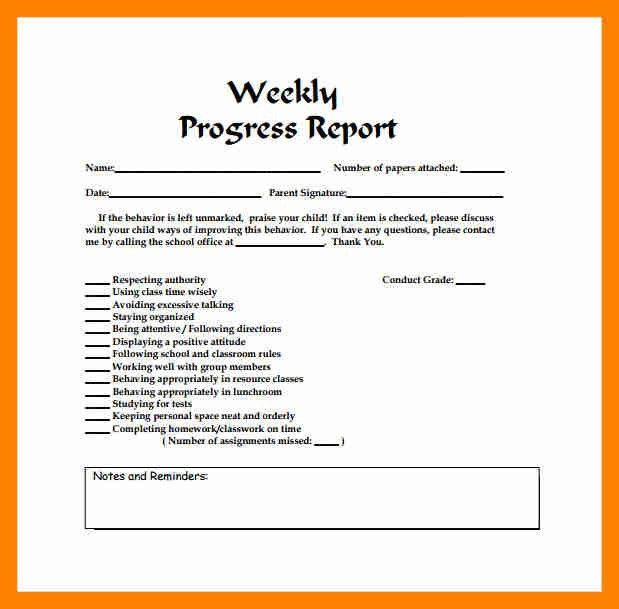5+ weekly report example | resumed job