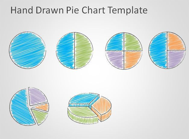 Free Hand Drawn Pie Chart Template for PowerPoint - Free ...