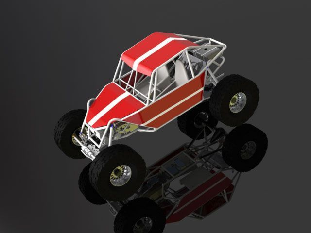 Project Hellraiser 2 Seater Chassis Plans | Space Frame Buggy ...