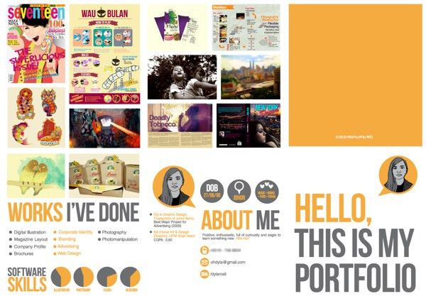Portfolio / Self Promo by Dyla Rosli, via Behance | Self-Promotion ...