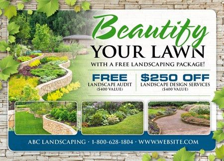 Landscaping Advertising Ideas – House Decor Ideas
