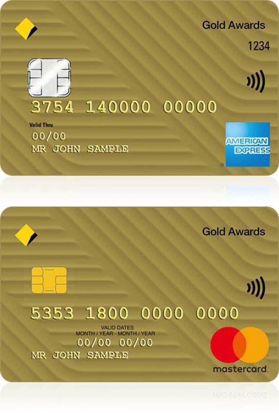Gold Awards credit card - CommBank