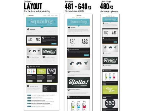 15 Free Responsive Email Templates That Look Great in Any Inbox ...