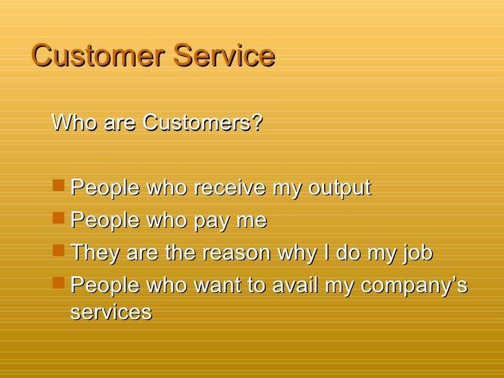 Customer Service handbook