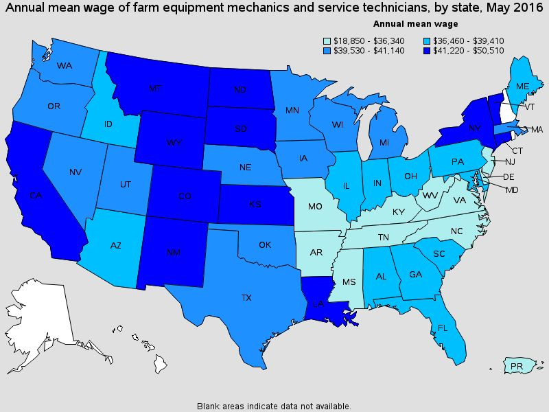 Farm Equipment Mechanics and Service Technicians