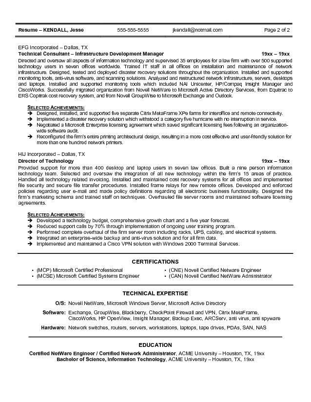 2014 cio resume sample_page_1 81 charming professional resume - Sample Cio Resume