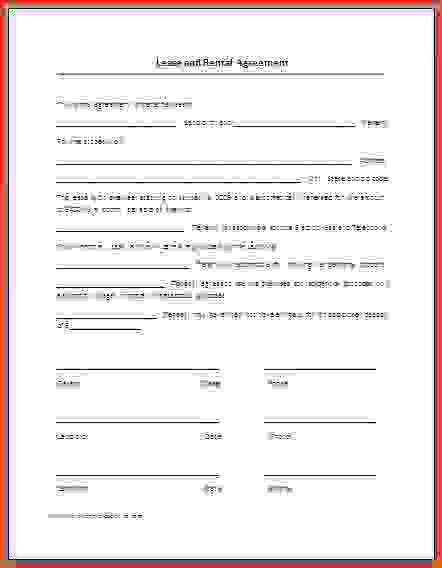 Free Printable Lease Agreement.Lease Agreement Template.jpg ...