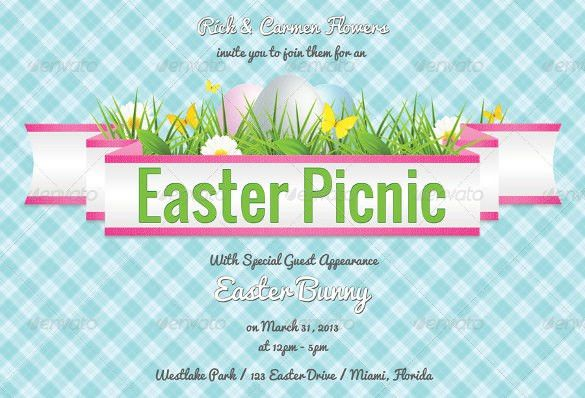 30+ Easter Invitation Templates – Free Sample, Example, Format ...