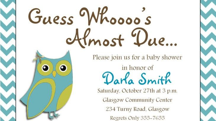 Baby Shower Invitations Wording Page 21 - Free Printable Baby ...