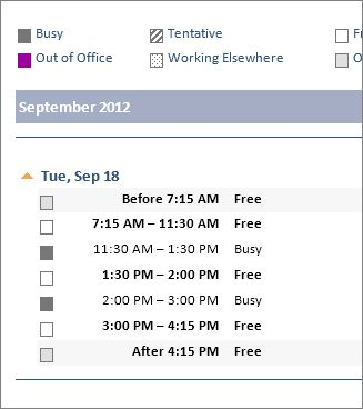 Share an Outlook calendar with other people - Outlook