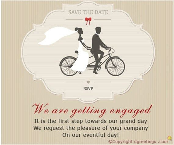 Engagement Invitation Templates | futureclim.info