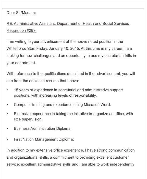 39+ Formal Application Letter Templates   Free & Premium Templates