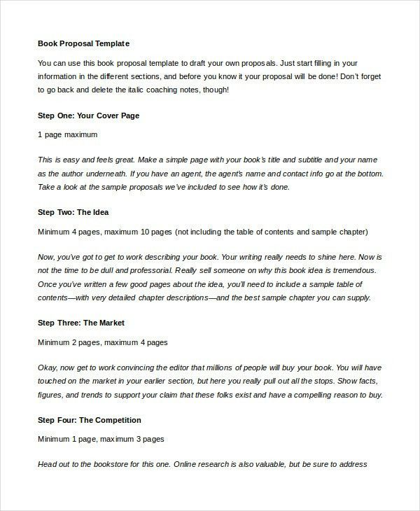 Proposal Template - 20+ Free Word, PDF, Indesign Format Download ...