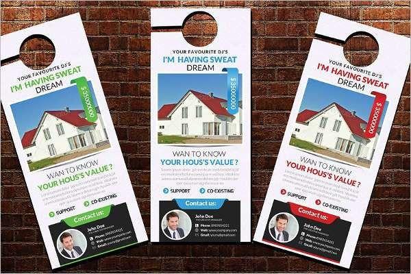 Door Hanger Templates || Free & Premium Templates | Creative Template