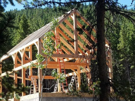 The Dickson Project: A Simple and Beautiful Timber Frame Design ...