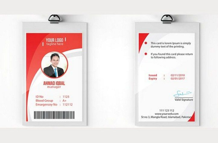 20+ ID Card Template PSD, Ai and InDesign Format - Graphic Cloud