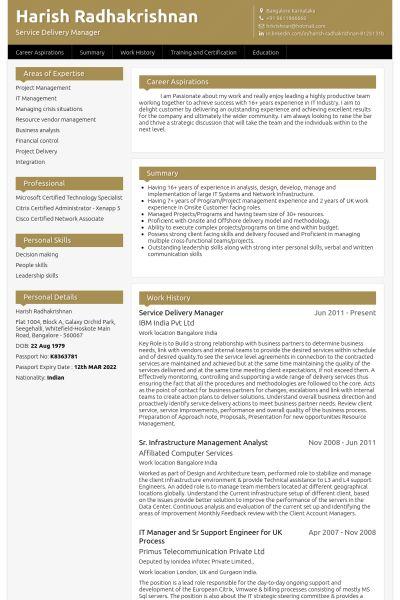 telecommunications manager resume manager telecommunications