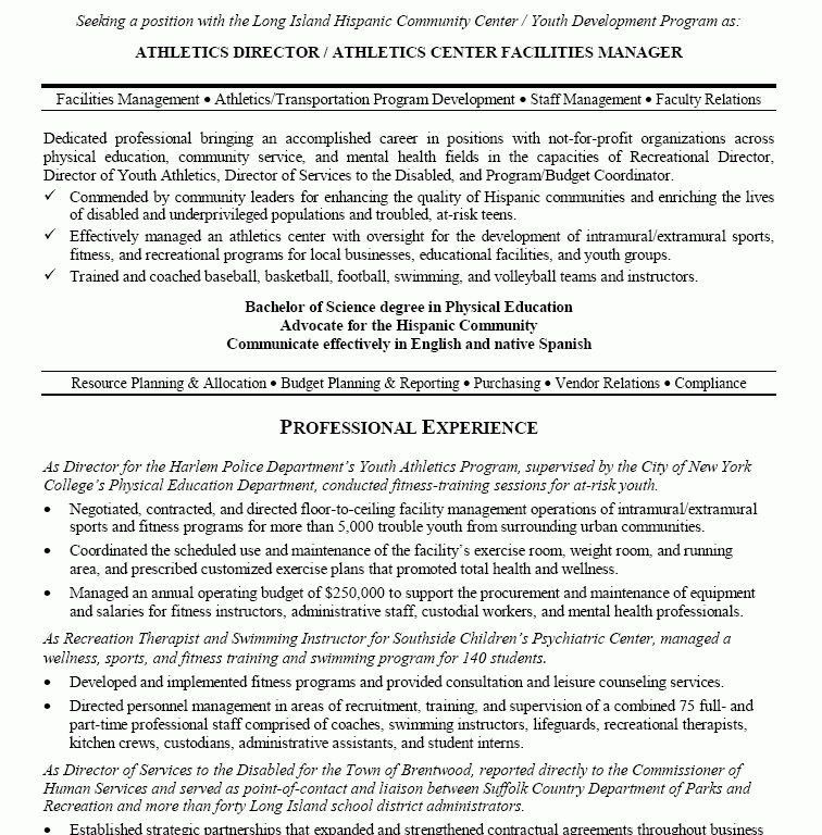 Exciting Facility Manager Resume 13 Facility Manager Resume Sample ...