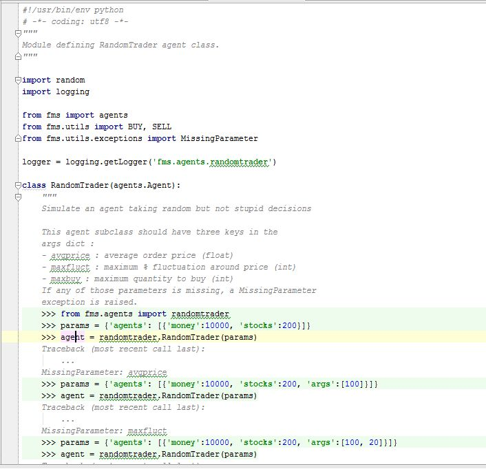 "Python docstrings and inline code; meaning of the "">>>"" syntax ..."