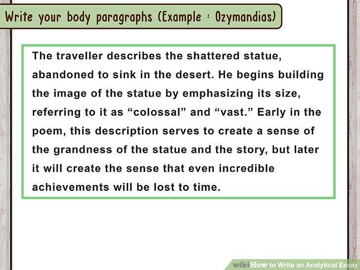 how to write an analytical essay 15 steps with pictures. critical ...