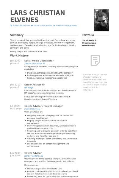 Social Media Resume Samples Social Media Specialist Free Resume