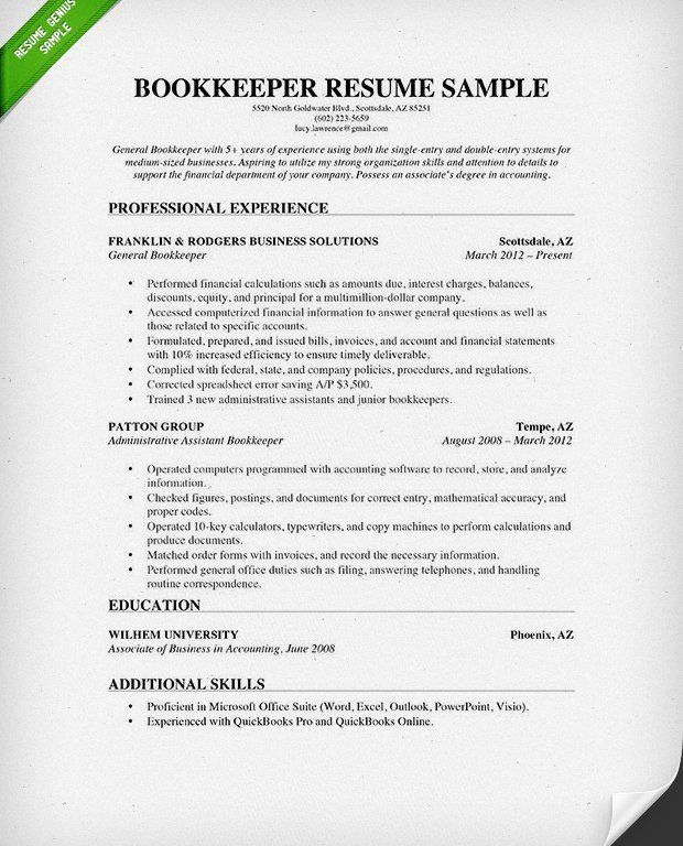 Resume Examples For Accounting. Tax Accountant Sample Resumes ...