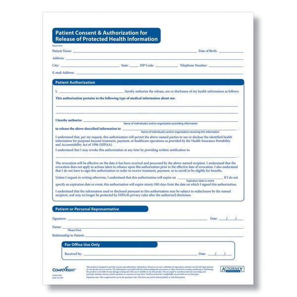 Personal Information Release Form [Template.billybullock.us ]