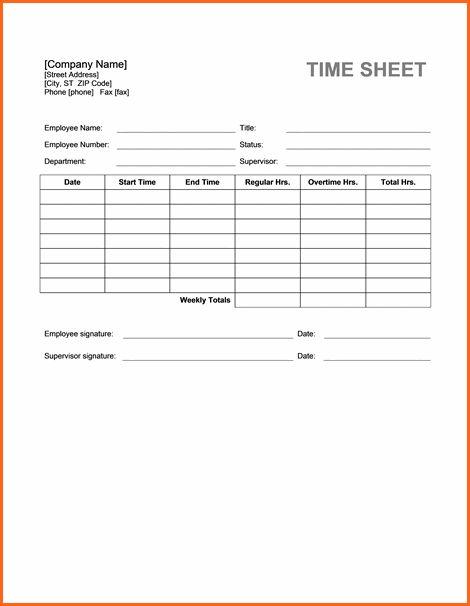 100+ Time Sheet Template | 5 Bi Weekly Timesheet Template ...