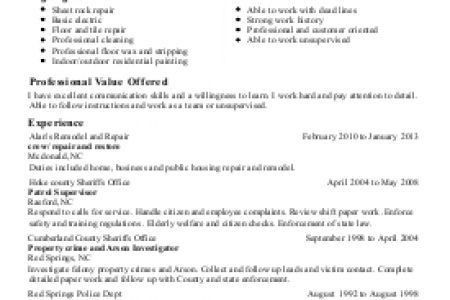 chic design painter resume 4 painters resume template. resume ...