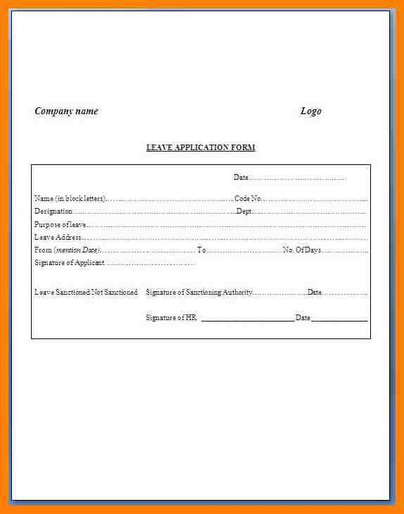 Application Format. Job Application Format Template Employment ...