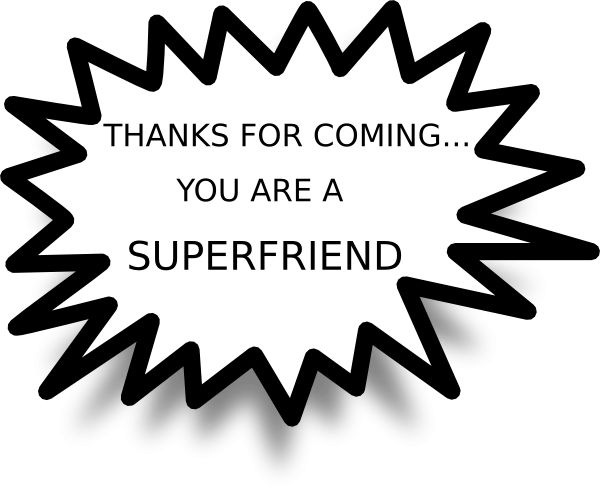 Thank You For Coming Clipart - ClipartXtras