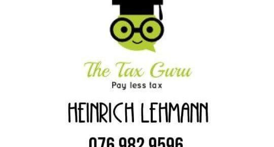 FREELANCE BOOKKEEPER AND COMPANY SECRETARY | Heinrich Lehmann ...