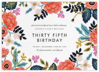 Birthday Invitation – gangcraft.net