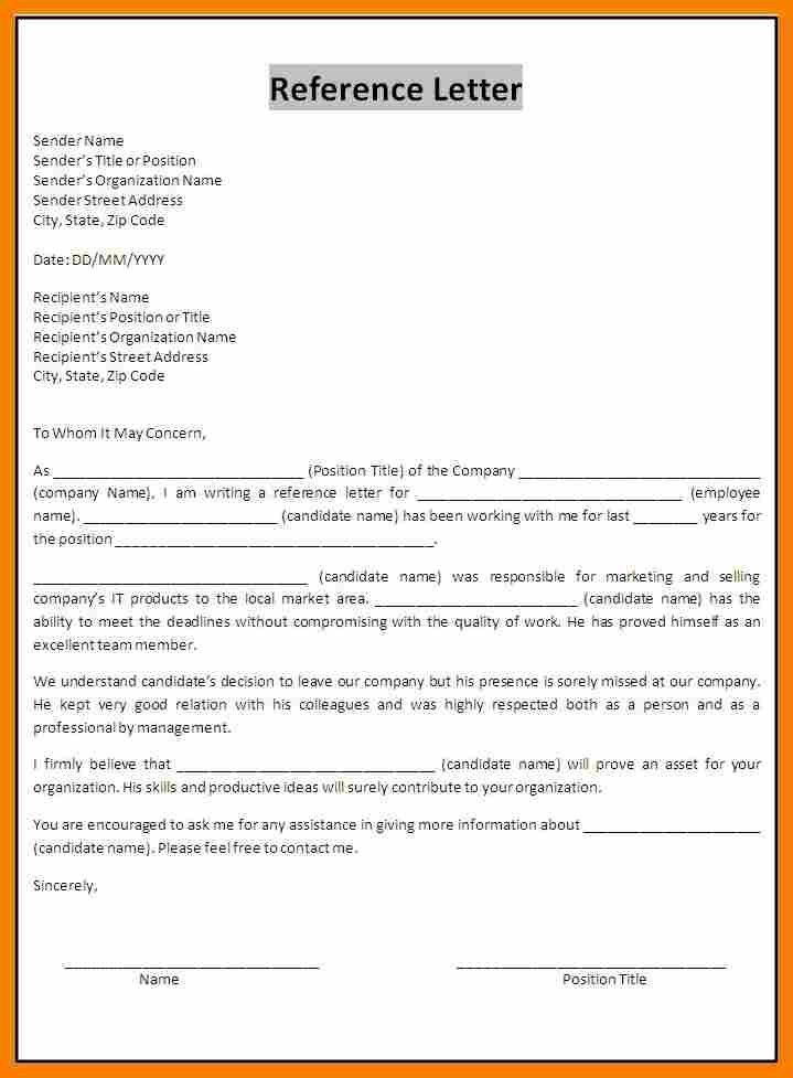 Reference Letter Layout.Reference Letter Template.jpg - blank ...
