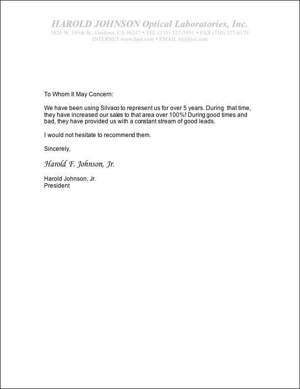 eagle scout parent letter of recommendation. letter of ...