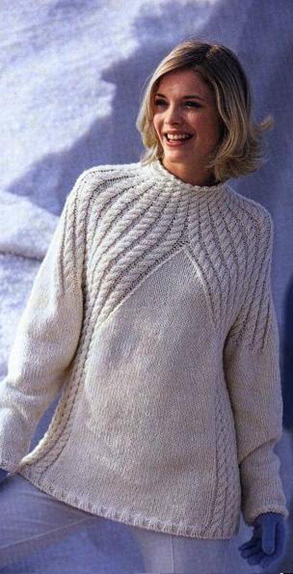 Джемпер для вязания
