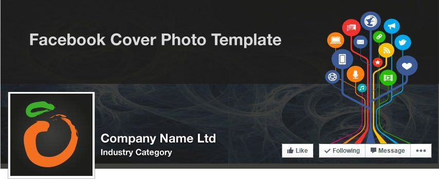 Facebook Company Cover Illustrator Template (May 2015) - Bob ...