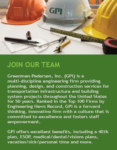 Entry Level Structural Engineer – GPI | Greenman-Pedersen, Inc.