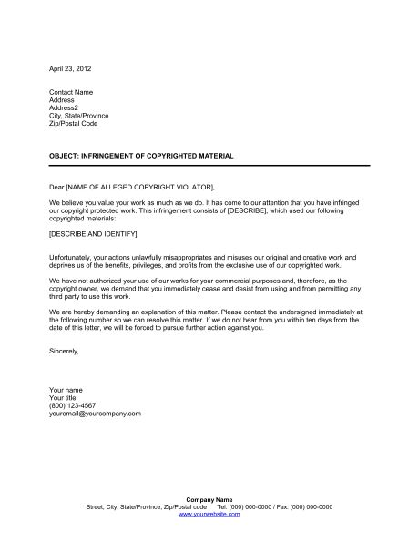 6+ notice template for work | a cover letters