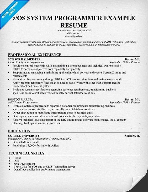 gallery of 21 exciting z os system programmer resume z vm system